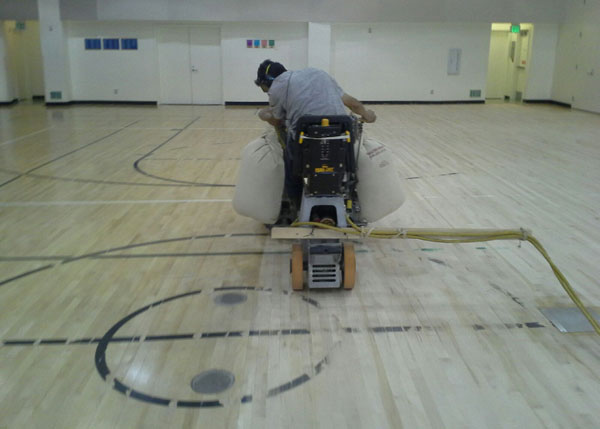 Commercial Wood Floor Installation