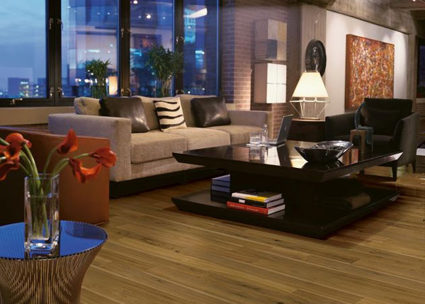 Midtown ESFL518 Walnut Wood Floor