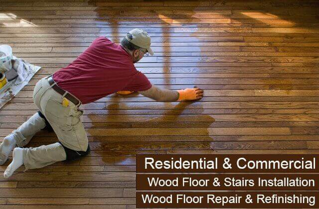 Commercial Wood Stairs Installers