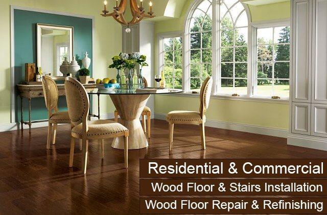 Hardwood Floor Installation Sanding